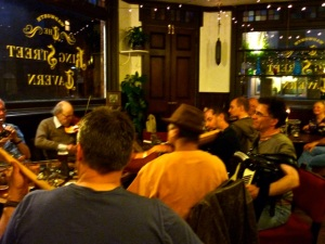 Session at King Street Tavern, Portsmouth